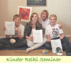 Kinder lernen Reiki | Kinder Reiki Seminar